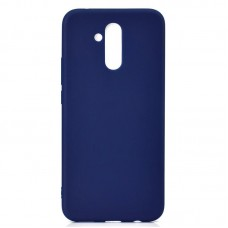 Чехол накладка TPU SK Soft Matte для Huawei Mate 20 Lite Dark Blue