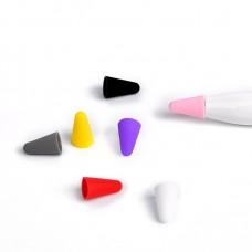 Чехол TPU Coteetci для наконечника стилуса Apple Pencil (1-2 поколение) 8шт Multicolor