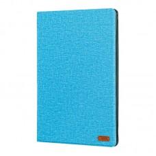 Чехол книжка ткань Remax Pure для Apple iPad Pro 9.7 PT 09 голубой
