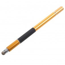 Стилус ручка SK 3 в 1 Capacitive Drawing Point Ball Gold