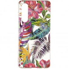 Чехол накладка TPU Gelius Flowers Shine для Huawei P30 Tropic