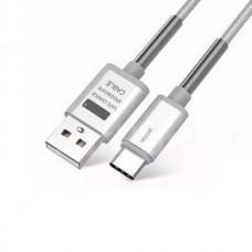 Кабель USB-Type-C Golf Thunder Braided GC-40t Silver