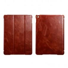 Чехол книжка кожаный Icarer Vintage Smart для Apple iPad Air 2 rid 602 коричневый