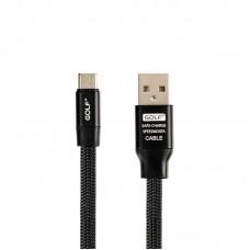 Кабель USB-MicroUSB Golf Momory GC-56m Black