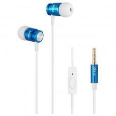 Наушники гарнитура вакуумные iPipoo iP-B30i Blue