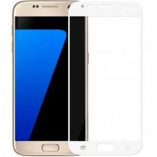 Защитное стекло Optima Full cover для Samsung S7 G930 White