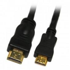 Кабель HDMI-miniHDMI A/C Viewcon 1.8m Black