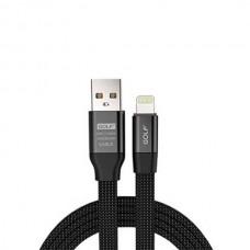 Кабель USB-Lightning Golf Momory iPhone GC-56i Black