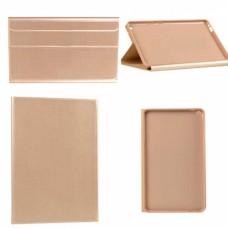 Чехол книжка кожаный Goospery Folio Tab для iPad New 2018 9.7 золотистый