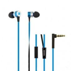 Наушники гарнитура вакуумные iPipoo iP-H300i Blue