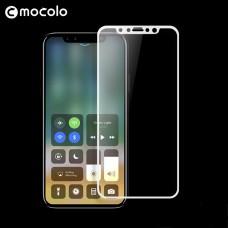 Защитное стекло Mocolo 3D для Apple iPhone X Xs белый