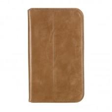 Чехол книжка кожаный WRX Premium для LG G Pad 8.3 V500 Olive Лак
