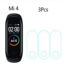 Защитная пленка полиуретановая Optima для Xiaomi Mi Band 4 (3шт) Transparent
