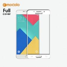 Защитное стекло Mocolo Full сover для Samsung Galaxy A3 A310 2016 White