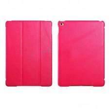 Чехол книжка PU Icarer Litchi Smart для Apple iPad Air 2 rid 601 Pink