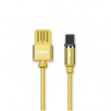 Кабель USB-Lightning Remax Gravity RC-095i 1m Gold