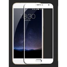 Защитное стекло Optima Full cover для Meizu Pro 5 White