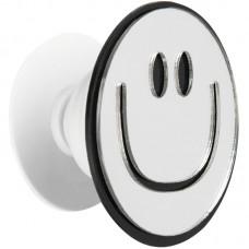 Держатель для смартфона PopSocket Mirror Smile Silver