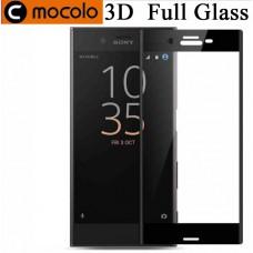 Защитное стекло Mocolo 3D для Sony Xperia XZ2 compact черный