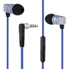 Наушники гарнитура вакуумные iPipoo iP-A200hi Blue