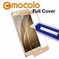 Защитное стекло Mocolo Full сover для Huawei P10 Lite золотистый