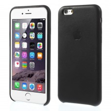 Чехол накладка PU SK Apple Case для iPhone 6 6S Plus Black