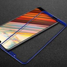 Защитное стекло Mocolo Full сover для Huawei Honor 10 Blue