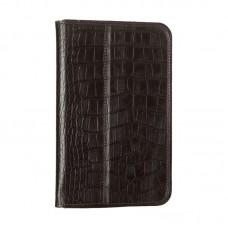 Чехол книжка PU WRX Premium для Samsung Tab 3 7.0 Lite T110 T111 Croco Chocolate