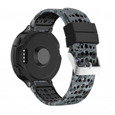 Ремешок TPU SK Pattern Printing для Garmin Forerunner 220 230 235 620 630 735 15mm Black