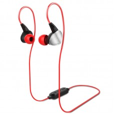 Наушники гарнитура вакуумные Bluetooth Yison E1 Red