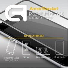 Защитное стекло Armorstandart Full Cover для Samsung J7 2017 J730 Black (ARM49861)