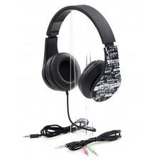 Наушники гарнитура накладные ProLogix MH-A960M Black