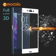 Защитное стекло Mocolo 3D для Sony Xperia X Compact F5321 белый