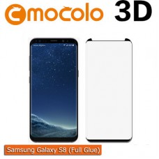 Защитное стекло Mocolo 3D Full Glue для Samsung Galaxy G950 S8 Black