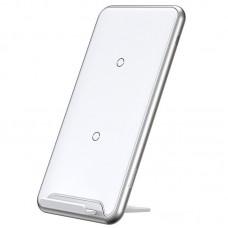 Беспроводное зарядное устройство Baseus Three-coil Desktop Holder WXHSD-B02 White