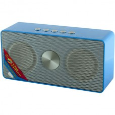 Колонка портативная Bluetooth Wster WS-768BT Blue
