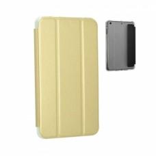 Чехол книжка кожаный Goospery Mercury Smart для Samsung Tab A 10.1 T580 T585 золотистый