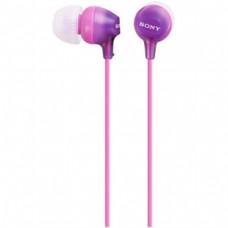 Наушники вакуумные Sony MDR-EX15LP Violet