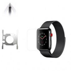 Защитная пленка полиуретановая Optima для Apple Watch 44mm f/b Transparent