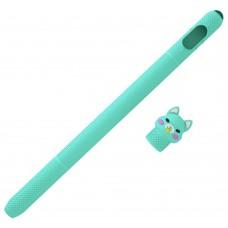 Чехол TPU Coteetci для стилуса Apple Pencil 1 Green (CS7073-QB-1A)