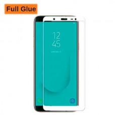 Защитное стекло Optima 3D Full Glue для Samsung J600 J6 2018 White
