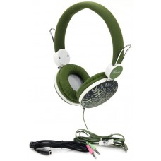 Наушники гарнитура накладные ProLogix MH-A920M Green