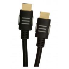 Кабель HDMI-HDMI v.1.4 A Tecro 1.5m Black