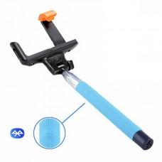 Монопод для селфи SK Bluetooth Z07-5F голубой