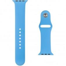 Ремешок силиконовый SK для Apple Watch 42mm Ocean синий (24)
