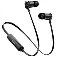 Наушники гарнитура вакуумные Bluetooth Baseus S07 Black