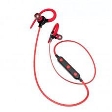 Наушники гарнитура вакуумные Bluetooth Awei B925BL Sport Red