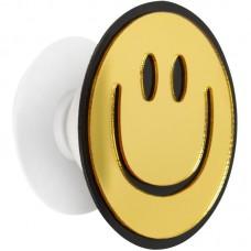 Держатель для смартфона PopSocket Mirror Smile Gold