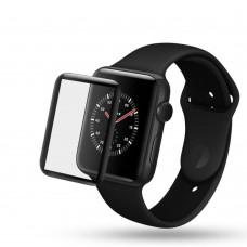 Защитное стекло Optima 3D для Apple Watch 38mm черный