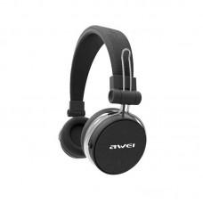 Наушники гарнитура накладные Bluetooth Awei A700BL stereo Black